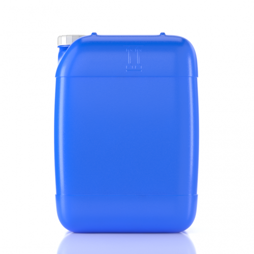 8 Gallon (30 liters) Blue HDPE Plastic Container with Tamper Evident Cap